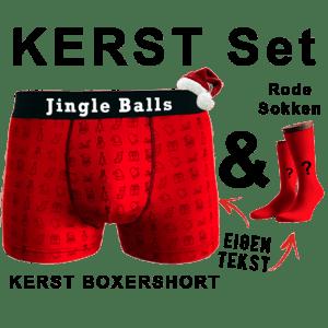 Kerst Boxershort En Sokken Laten Bedrukken
