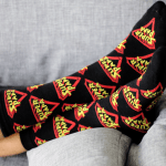 Zwarte Super Papa Sokken