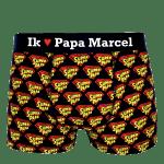 Super Papa Onderbroek Zwart Bedrukken
