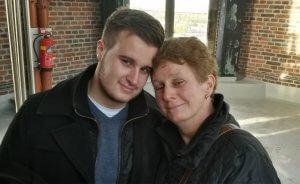 Een foto van mij en mijn moeder