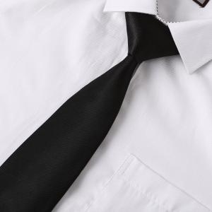 Bedrukken zwarte stropdas