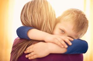 knuffel moeder