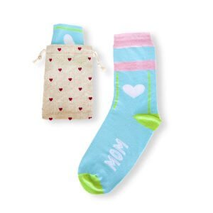 Moederdag sokken bedrukken