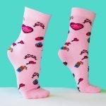 Roze Moederdag Sokken Cadeau