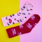 Rode Sokken Voor Mama Cadeau