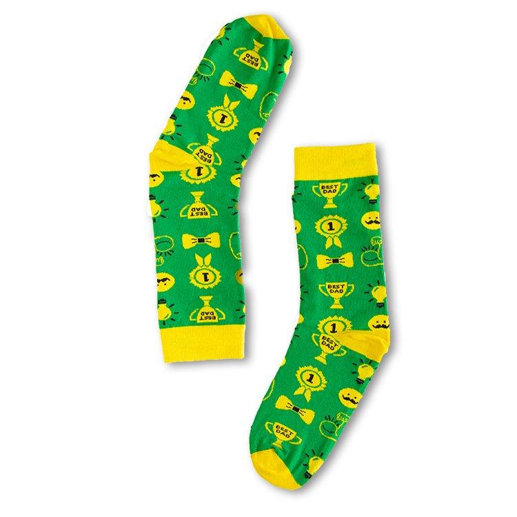 aa0ce83126a Groene Vaderdag sokken