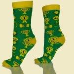 Groene Best Dad Sokken