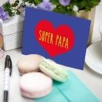 Super Papa Ansichtkaart