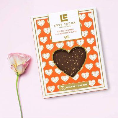 Liefdes chocolade
