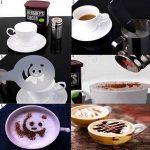 Voorbeelden koffie sjablonen