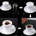 Voorbeeld sjabloon koffie