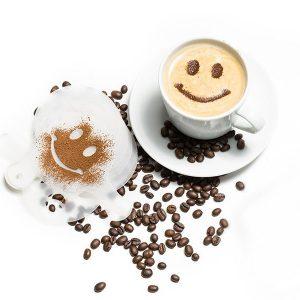 Sjablonen voor koffie, desserts en cakes